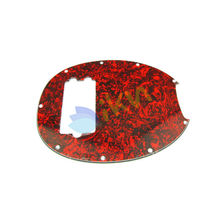 NEW 3Ply Humbucker Music Man Bass Pickguard Guard Plate ,Red Tortoise