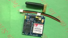 1PCS/lot  SIM900   V4.0 Wireless Data Transmission Module GPS GSM GPRS Board Kit with Antenna Cable