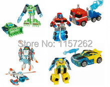 Free Shipping Rescue Bots Transformation Figures Toys Heatwave the Fire-Bot Figure Without Original Box