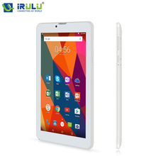 "Hot iRULU X6 3G Phablet 7"" Android 7.0 Slim Tablet Phone Call Quad Core 1024x600 IPS ROM 16GB Dual Cam Wireless FM GPS 2800mAh(China)"