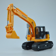 Engineering vehicle car toys Small Excavator model plastic Diecast Metal Car toy funny Gifts For boys Kids children wholesale(China)