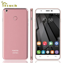 5.5 Inch HD Oukitel U7 Plus 4G LTE Smart phone Android 6.0 MTK6737 Quad Core 2GB RAM 16GB ROM 1280*720 13MP Camera Mobile phone