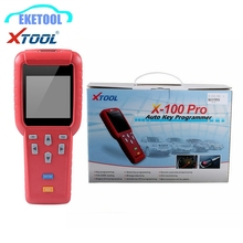 Multi-Function Original Xtool Auto Key Programmer X100 Pro English Version X-100+ Key Programming Works Multi-Brand Cars