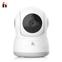 H Free Shipping HD 720P IP Camera Pan&Tilt P2P Wifi Wireless Baby Monitor Security Camera with Night Vision Micro SD Card slot(China)