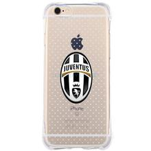 Anti knock FC Barcelona Juventus football clubs For IPhone 7 6 6S Plus 5 5S SE Case transparent  Silicone soft Tpu Phone Cover