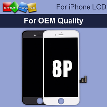 OEM Quality 5.5 inch High Screen For iPhone 8 Plus LCD Display with Touch Screen Digitizer Assembly Replacement Parts, Free DHL(China)