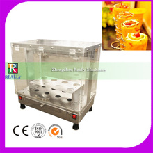 Wholesale price 110V easy operation pizza show case displayer warming machine(China)