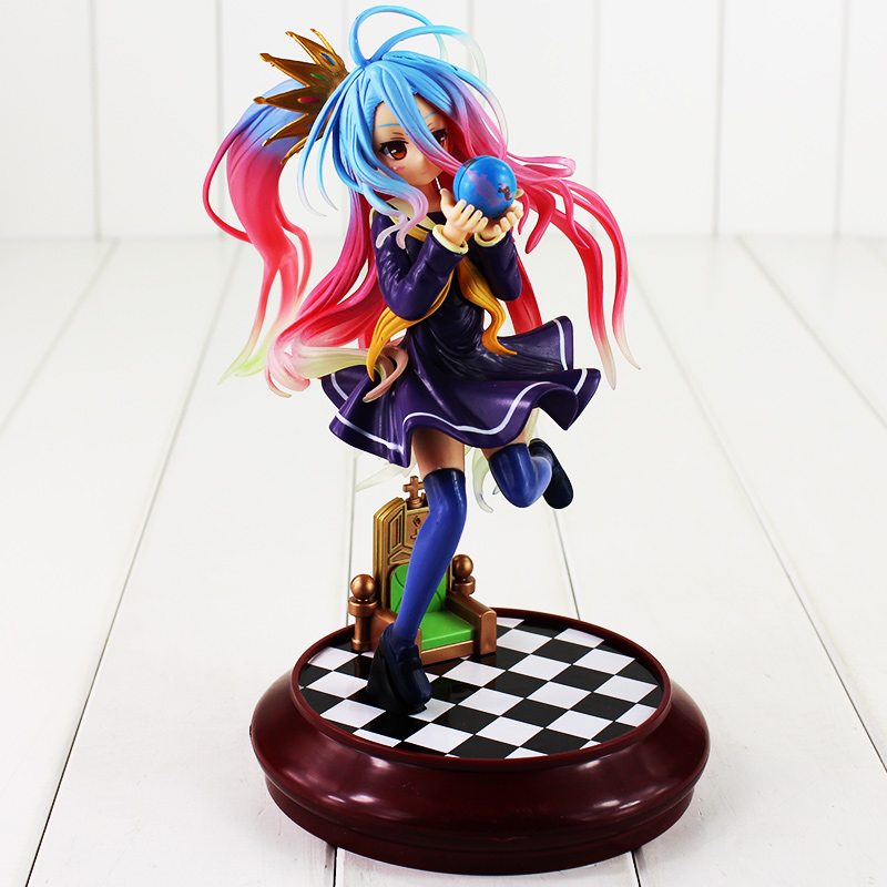 Anime No Game No Life Shiro PVC Action Figure Model Doll Toys For Collection 24cm Free Shipping<br><br>Aliexpress
