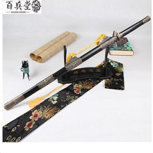 Special Gift Carbon Steel Casting Long Sword Home Decoration Antique Movive Metal Sword(China)