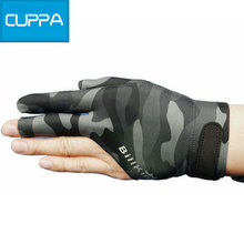 High Quality Cuppa Camouflage Billiard Gloves Pool Glove Billiard Accessories China(China)