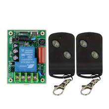 AC 220V 30A Relay Receiver Remote Control Switch Wireless High Load LED Waterpump Motor Power Remote ON OFF Controller Learning