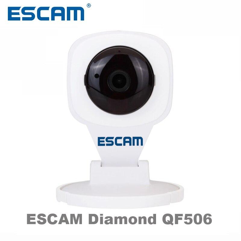 Escam Diamond QF506 HD IP Camera Wi-fi Wireless Home Security Cam Surveillance WiFi H.264 1.0MP P2P Motion Dection IR-Cut Filter<br><br>Aliexpress