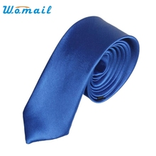 New Arrival Men Ties Fashion Style Slim Neck Skinny Tie Simplicity Design Solid Color Longth 45 cm For Party Formal Ties Ap11