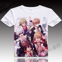 Anime Unisex Tops Tee The AMNESIA cosplay Pattern Shirt Anime Products AMNESIA T-shirt Men and woman