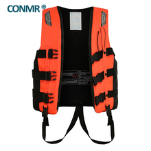 CONMR QF 1923 Famous brand Fishing vest life vest jacket  for adult men outdoor hunting hiking Upstream Surfing 50