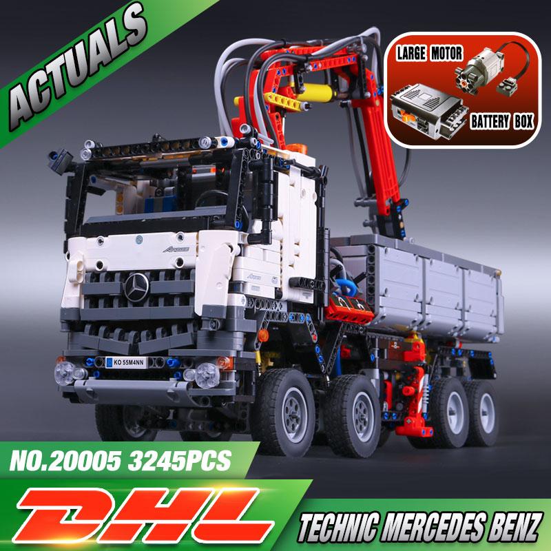 2793pcs NEW LEPIN 20005 technic series 42023 Arocs...