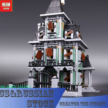 New LEPIN 16007 2141Pcs Monster fighter The haunted house Model set Building Kits Model Compatible With 10228 Gifts(China)