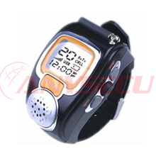 A pair mini walkie talkie wrist watch RD-008 ham radio Multi Frequency optional