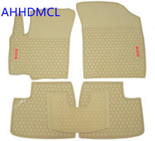 Special Car Rubber Floor Mats Anti Slip Mat Carpets Feet Pad Custom Fit For Suzuki SX4 Left Hand Drive(China)