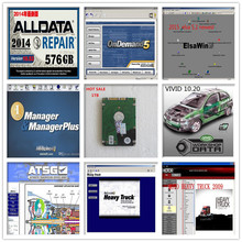2017 hdd 1tb auto software all data mitchell on demand 2015 alldata 10.53+ heavy truck+vivid workshop+elsa win5 .2 +atsg+manager
