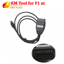 Newest for FI AT KM TOOL OBD2 Odometer Correction tool Programmer for FIAT KM TOOL OBD II Mileage Programmer Free Shipping