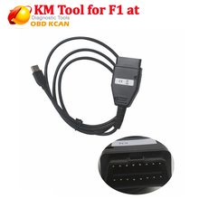 Newest for FI AT KM TOOL OBD2 Odometer Correction tool Programmer for FIAT KM TOOL OBD II Mileage Programmer Free Shipping(China)