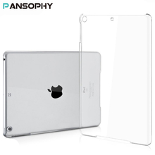 Clear Crystal Cover for New iPad 2017 9.7 Case for funda iPad Air Hard Plastic Protective Case for iPad 2017 Cover A1822 A1823