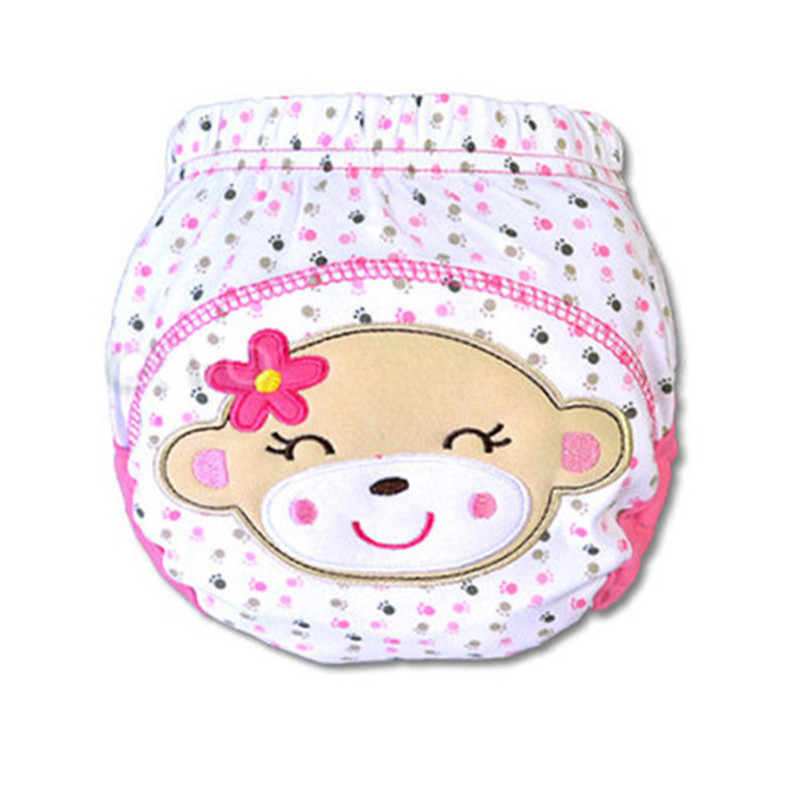 5pc/sets Baby Waterproof Reusable cotton Diapers/Children Cloth Diaper/Reusable Nappies/Training Pants/Diaper Cover Washable