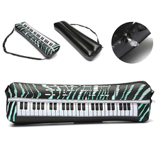 CCINEE 5 PCs PVC Hot Inflatable Keyboard Piano Instrument Fun Party Music Toy Children Kids Black and White Gifts