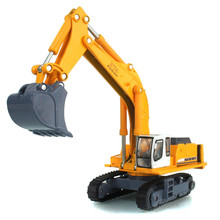 Kaidiwei Diecast Metal Excavator Truck Toy 18cm Simulation Excavator Cars Toys For Children, Collectible Trucks Model Brinquedos
