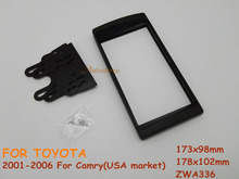 Car Fitting Kit installation Radio fascia for TOYOTA Camry 2001-2006 USA market(China)