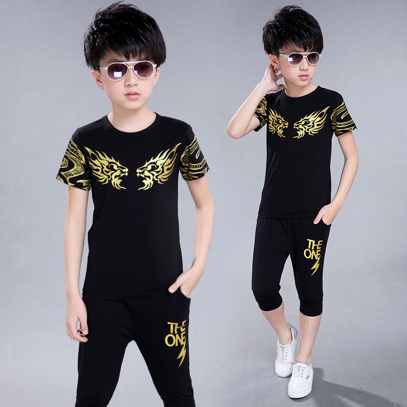 New Hot Sale Summer Kids Boys T Shirt Shorts   fashion Children Short Sleeve Shirt Boys Clothing Set Kids Boy Sport Suit Outfit<br><br>Aliexpress