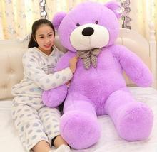 Recommend Toys Teddy Bear 1.2 Meters Hold Pillow Big Embrace Bear Doll Plush Bear Doll/ Christmas Birthday Lovers Gifts