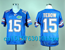 2017 Nike North Carolina Tar Heels Tim Tebow 15 College Nike Sweatshirts - Royal Blue Color Size S,M,L,XL,2XL,3XL