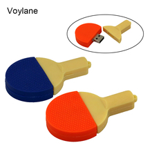 Voylane Table tennis racket usb flash drive ping pong ball pen drive cute penfrive 4g 8g 16g 32g external storage stick