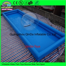 Promotional Custom PVC Inflatable Pool for Inflatable Water Walking Ball(China)