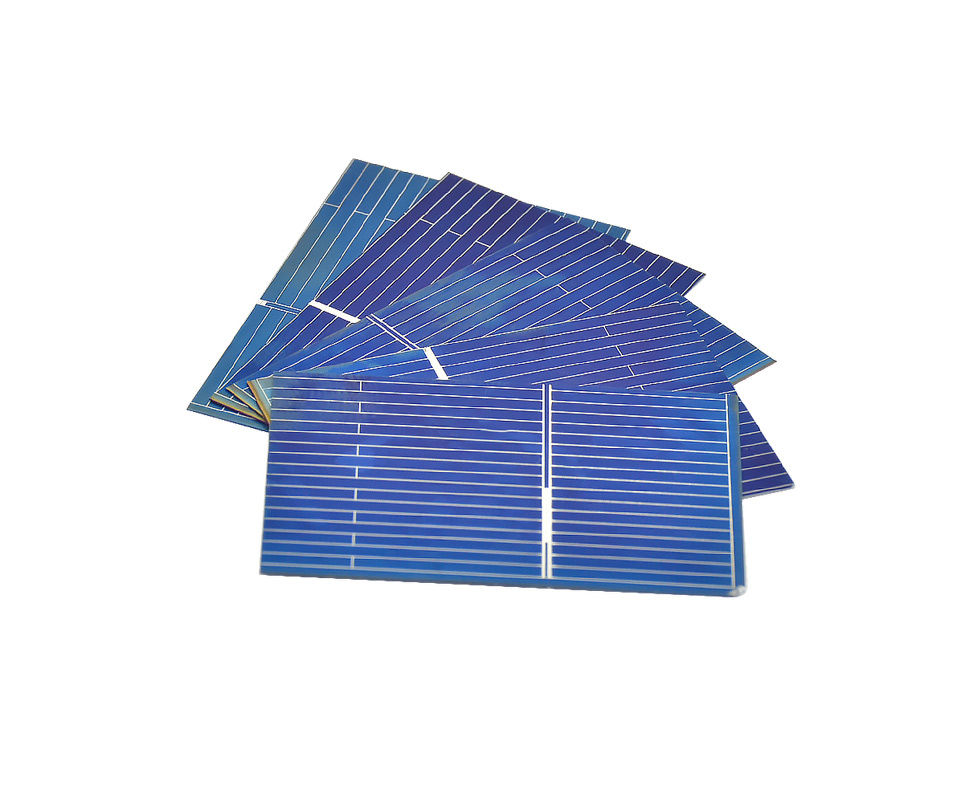 Aoshike 100pcs Polycrystalline Solar Panel 0.5V 0.17W 39x26mm Sunpower Solar Cell photovoltaic panels DIY Solar Battery Charger 2