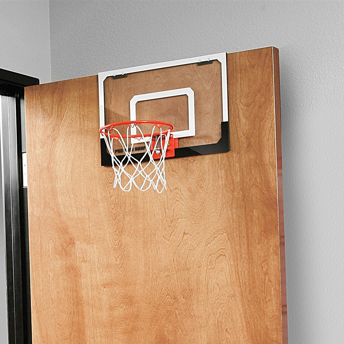 Mini Basketball Hoop + Ball - Shatterproof Backboard