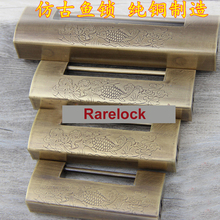 Rarelock Brass Padock Retro Style Lock Plus Padlock Pick Locks for Cabinet Box Game Locks a