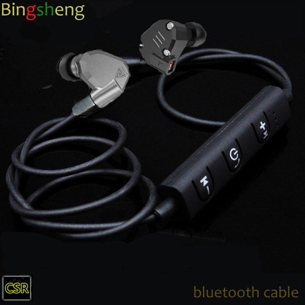 bluetooth earphone  cable for kz zsr ZST ZS5 ZS6
