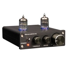 Preamplifier Hot Sale ZHILAI D2 HIFI Digital Audio 6J1 Valve Tube Preamp Dual Channel Treble Bass with Power Adapter Black 2017