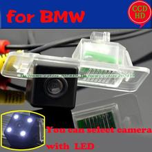 For BMW 3/5 series BMW X3 X4 X5 X6 2014 2015 car auto rear view back parking camera for sony ccd with LEDS color night vision(China)