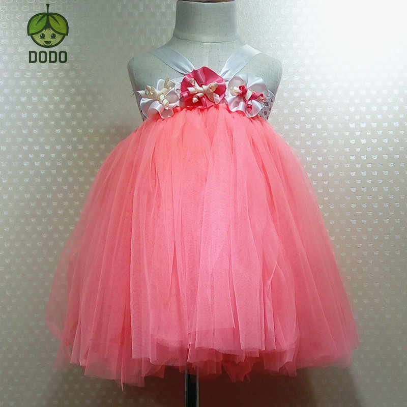 Super soft Baby Girls Tutu Dress Dance Dress Girls wedding Flower Dress Princess Dress girl Party costume Dress Birthday Dress <br>