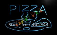 LB004- OPEN Hot Pizza cafe Restaurant LED Neon Light Sign