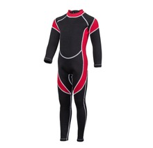 Neoprene Scuba Diving Kids Wetsuit Spearfishing Wet Suit Surf Diving One Piece outdoor Suits Spear Fishing Wetsuit for children(China)