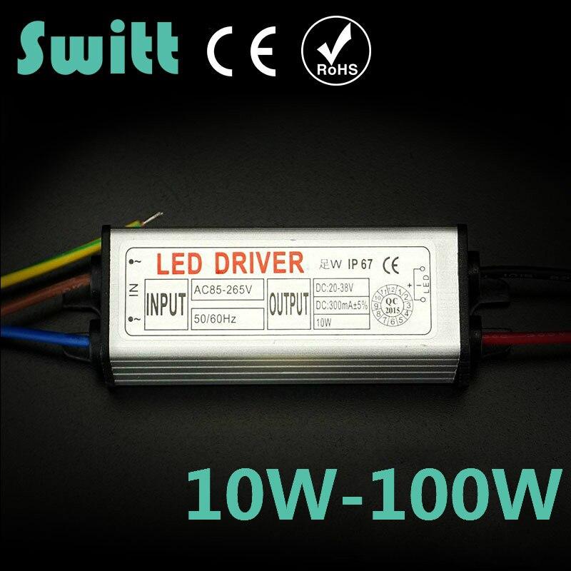 New Year Real Full watt 10W LED Driver For DIY Floodlight Spot light Lawn<br><br>Aliexpress