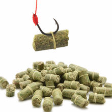 1 Bag Different Length Green/Red Carp Smell Lure Red Grass Carp Baits Fishing Baits Different Length Fishing Lures(China)