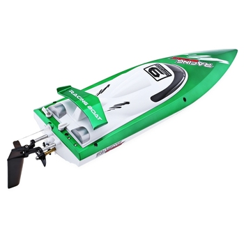 New Arrival Fei Lun FT009 2.4G  High Speed Remote Control Racing Boat 30km/h Anti-crash Cover Yacht Christmas Birthday Gift