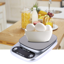 Mini 0.1g Accuracy Digital LCD Display Kitchen Scale with Large Non-magnetic Stainless Steel Platform Units g, oz, ml, fl.oz(China)