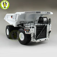 1/50 Norscot 55243 CAT 797F Dump Truck White Diecast Model